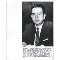 1964 Press Photo Anti-Castro Group Leader Manuel Ray Rivero Cuba - RSC95023