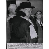 1958 Press Photo W Germany Ludwig Erhard - RRW21311