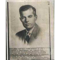 1950 Press Photo US Aide Accused of Spying,Douglas Mackiernan - RSC95245