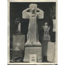 1930 Press Photo W T Mosman University Man Annual Competition Prix de Rome