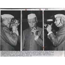 1960 Press Photo India Prime Minister Jawaharlal Nehru - RRX83575