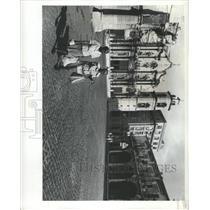 1978 Press Photo Plaza Cathedral Havana Cuba market - RRX91357