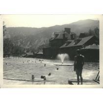 Press Photo Natural Hot Springs Swimming Pool - RSC87077