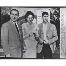 1958 Press Photo Fulgencio Batista Cuba Dictator Family - RRX84619