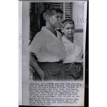 1958 Press Photo Cuban President Fulgencio Batista Sons - RRX75029