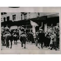 1936 Photo Police Clash With Strikers In Saloninka,Gre. - RRX80285