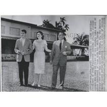 1958 Press Photo President Cuba Fulgencio Batista - RRX84615