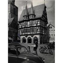 1958 Press Photo Alsfeld Hesse West Germany Market - RRX71049