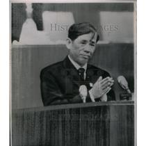 1966 Press Photo Vietnamese Politician Le Duan - RRX32641