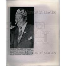 1964 Press Photo Kenya Prime Minister Jomo Kenyatta - RRX57513