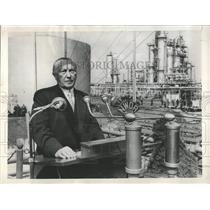 1955 Press Photo German Chancellor Konrad Adenauer - RRX84781