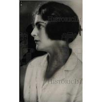 1934 Press Photo Mrs Theodore Levine Detroit club woman - RRW74799