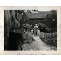 1968 Press Photo 17th Century Whipple House