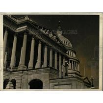 Press Photo Washington DC capitol building close view - RRX78801