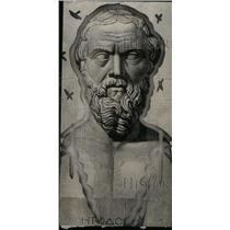 1927 Press Photo Herodotus Greek Historian Caria Turkey - RRX44829