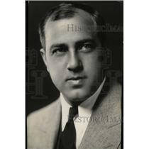 1933 Press Photo Richard Crooks/Opera/Tenor New York - RRW78777
