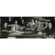 1929 Press Photo Circuit Court Table Members - RRW69269