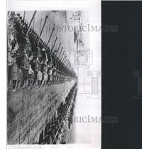 1953 Press Photo Verona American-built tank Italy - RRX95167