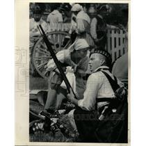 1986 Press Photo Revolutionary War Battles - RRW22925
