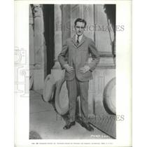 1938 Press Photo Frederic March was Stricken with Appendicitis and Recovering