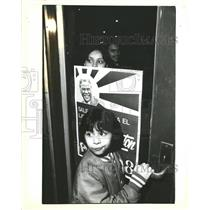1983 Press Photo UN florin se Querida Washington Prensa - RRW43291
