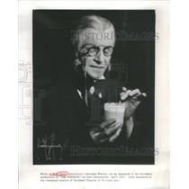 1927 Press Photo Will Geer American Actor and Social Activist