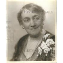 1930 Press Photo Mrs. Jacques Martin Actress - RSC02379