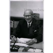 1961 Press Photo Urho K. Kekkonen President of Finland - RRX46153