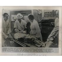 1961 Press Photo Congo Katanga Province Shootings