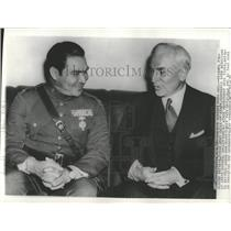 1938 Press Photo Fulgencio Batista Cuban Cordell Hull - RRX84555