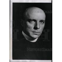 1951 Press Photo Béla Varga Hungarian Priest Politician - RRW97615