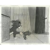 1968 Press Photo Cartoons Character Tom Jerry Shakehand - RRX86185