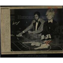1972 Press Photo Shirley Brancuccie Dealer Las Vegas