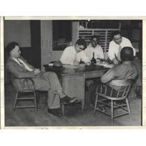1933 Press Photo Cotton Pickers Strike Shooting - RRX99905