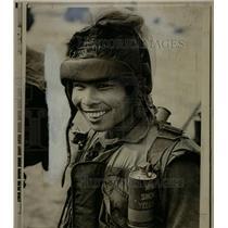 1971 Press Photo Sout Vietnam Elite Trooper - RRX64897