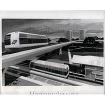 1971 Press Photo Activity Center Transportation system - RRW90777