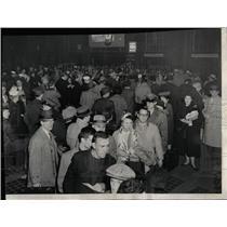1958 Press Photo Union Station Rail Terminals Scene - RRW93891