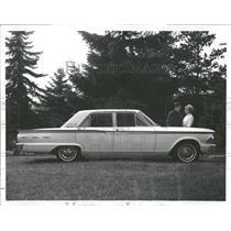 1961 Press Photo Profile of Four-Door Fairlane Sedan
