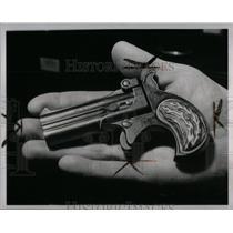 1963 Press Photo Pistol That Shot Officer Jamison - RRX56445