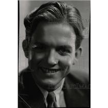 1932 Press Photo Eric Linden - RRW78643