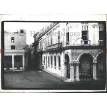 1983 Press Photo Deteriorating Buildings In Cuba