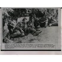1963 Press Photo Algerian Rebel Guerilla Soldiers