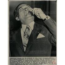 1958 Press Photo Fulgencio Batista Cuban President - RRX74945