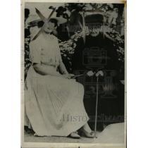 1920 Press Photo Eugenie executive president France - RRW82499