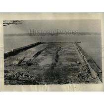 1934 Press Photo Excavation work for the power house - RRY59195