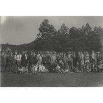 1927 Press Photo JCRS Patients Picnic - RSC87063