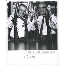 1962 Press Photo Grand American Winchester model rifle - RRW48243