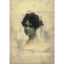 1919 Press Photo Mrs Mantell Robert Gilmore pose smile - RRW72887