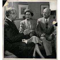 1954 Press Photo General & Mrs. John F. Curry - RRW19731