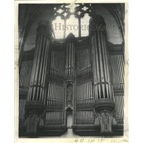 1939 Press Photo Organ U of C Chapel - RRW35575